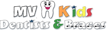 Logo for MV Kids Dentists and Braces in Mountain View, CA.