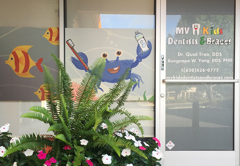 Front door photo for MV Kids Dentists and Braces in Mountain View, CA
