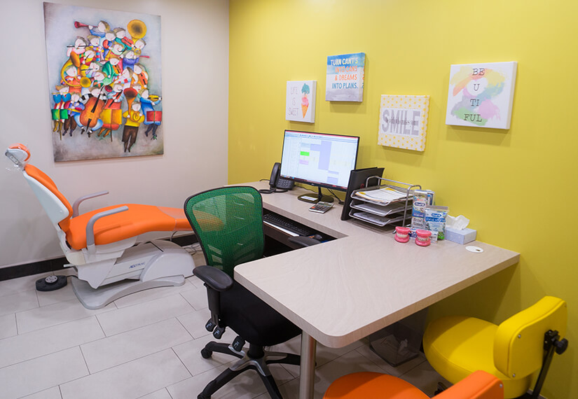Consultation room photo for MV Kids Dentists and Braces in Mountain View, CA