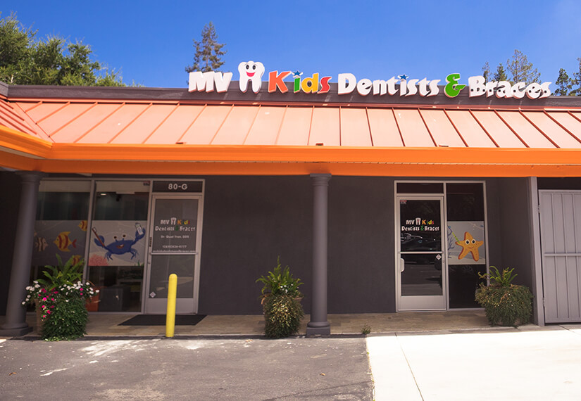 Office building photo for MV Kids Dentists and Braces in Mountain View, CA