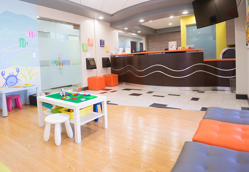 Reception area photo for MV Kids Dentists and Braces in Mountain View, CA