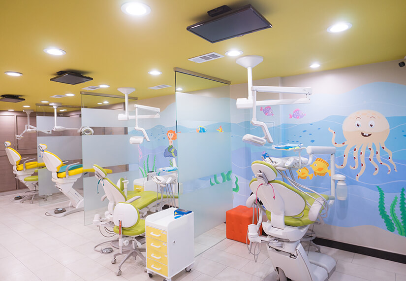 Treatment room photo for MV Kids Dentists and Braces in Mountain View, CA