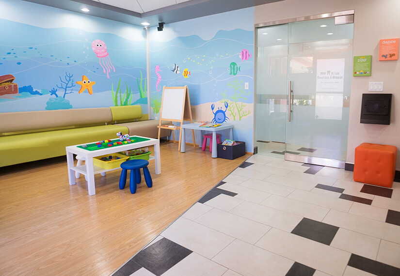 Waiting Room photo for MV Kids Dentists and Braces in Mountain View, CA